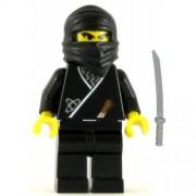LEGO Ninja Minifig Black Ninja