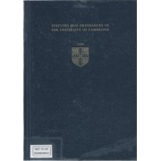 Statutes and Ordinances of the University of Cambridge 2009 2009 by University of Cambridge