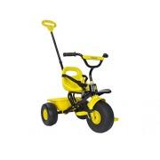 Injusa - Triciclo Sweet, con cintura di sicurezza e manico da spinta rimovibile, colore: Giallo