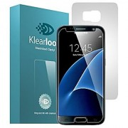 Klearlook Samsung Galaxy s7 Screen Protector Klearlook 1-Pack Crystal Clear Tempered Glass Screen Protector + 1-Pack Ma