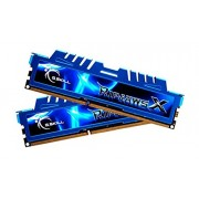 GSkill F3-2133C10D-16GXM Memoria RAM da 8 GB, DDR3, 2133 MHz, CL10, Kit 2 Pezzi, Verde