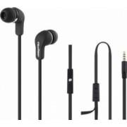 Casti Audio cu Microfon Qoltec Negru 50800