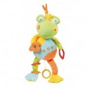 Jucarie muzicala Broscuta - Brevi (Brevi Soft Toys)