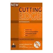 New Cutting Edge Intermediate Teacher's Resource Book with Test Master CD-Rom Pack