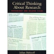Critical Thinking About Research by Julian Meltzoff