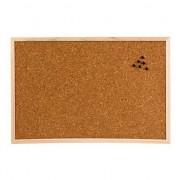 Prikbord van kurk materiaal 39 cm