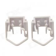 Carking coche H1 HID zocalo del sostenedor de bulbo de Mondeo Chia-X - Blanco (2 piezas)