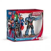 Schleich 2522507 - Confezione Scena Superman Contro Darkseid