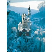 Puzzle Castelul Neuschwanstein iarna, 1500 piese, RAVENSBURGER Puzzle Adulti