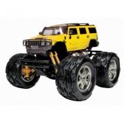KidzTech - Радиоуправляема кола 1/26 Hummer H2 big foot - презареждаем - жълт