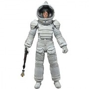 NECA Aliens Series 4 Ripley 7 Action Figure (White Nostromo Spacesuit Version)