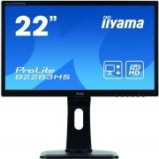 Monitor LED Iiyama ProLite B2283HS-B1 21.5 inch 2ms Black