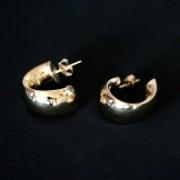 Earring Gold Plated Jewelry Semi Media Snail