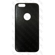 Apple iPhone 6 Plus (калъф пластик) 'Leather Apple style'