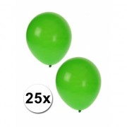 25x groene ballonnen
