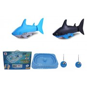 High Quality Imported Remote Control RC Mini Shark Fish Pool game Fun Kids Water Game Toys - Gift Toy