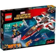 LEGO Superheroes 76049 Avenjet Ruimtemissie