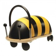 Prince Lionheart Wheely Bug Bee Push/Scoot Ride-On 750X Size: Large