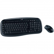 Kit tastatura + mouse wireless Genius KB-8000X