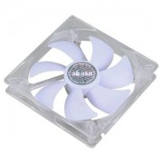 Ventilator 140 mm Akasa Quiet White LED, AK-195WH