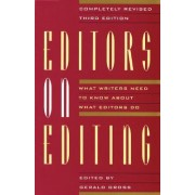 Editors on Editing by Gerald Gro
