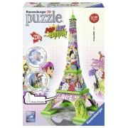Puzzel Eiffel tower 3d: 216 stukjes