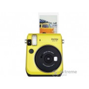 Aparat foto analog Fujifilm Instax Mini 70, galben