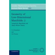 Geometry of Low-dimensional Manifolds: v. 2 by S. K. Donaldson