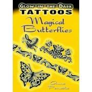 Glow-In-The-Dark Tattoos: Magical Butterflies by Anna Pomaska