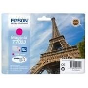 Epson T7023 Patron magenta 2,4K (Eredeti) WorkForce Pro 4015, 4095, 4525 nyomtatókhoz, EPSON magenta, 45,2 ml