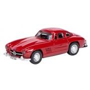 Schuco 1/87 Mercedes-Benz 300 SL coupe. Red (japan import)