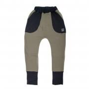 Pantaloni lungi Boots Fleece - verde, 4-6 ani