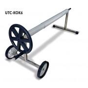 Szolár fóliához 6m rozsdamentes csörlőszerkezet UTC-KOK6