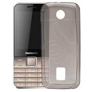 ECellStreet Case,Grey Soft ,Lightweight,Shock Absorbing Tpu Back Case Cover For Karbonn K451 Plus Sound Wave