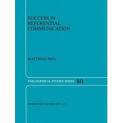 Success in Referential Communication by Paul Matthias