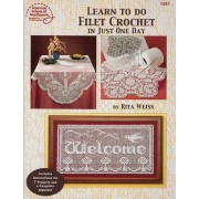 Learn to Do Filet Crochet in Just One Day by Annie's