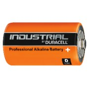 10 Batterie Torcia D 1.5V Duracell Industrial