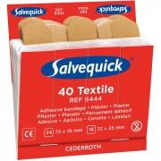 Salvequick 6444 Textilplåster 6x40st