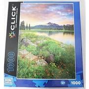 Mega Puzzles Click 1000 piece Columbine Island Sunset Jigsaw Puzzle