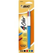 Bic 4-Color Ball Point Pen Twelve 1 Count Packs 12 Total (Mmxp11Ast)