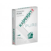 Kaspersky PURE 2.0 + 3.0 Total Internet Security 3 PC 1 Year Retail DVD