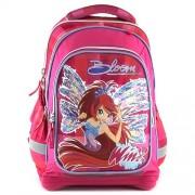 Winx Club 16336 Children's Backpack, Pink/ Blue