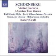 A Schonberg - Violin Concerto (0747313252824) (1 CD)