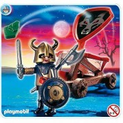 Playmobil 4812 - Chevaliers Des Loups Et Catapulte
