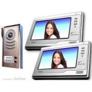 Anykam 592+692 Video Türsprechanlage Videosprechanlage Türklingel 2-Familienhaus 2Draht