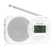 Blaupunkt BD320 Portable Radio FM Digital Display White