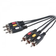Kabl Audio/Video Vivanco Cinch 3x M/M 2m 42029 42029