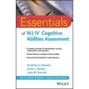 Essentials of WJ IV Cognitive Abilities Assessment by Fredrick A. Schrank