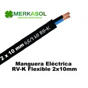 Cable RV-K 2x10mm Negro