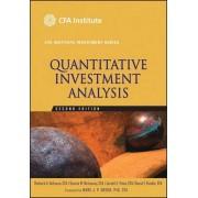 Quantitative Investment Analysis by Richard A. Defusco
